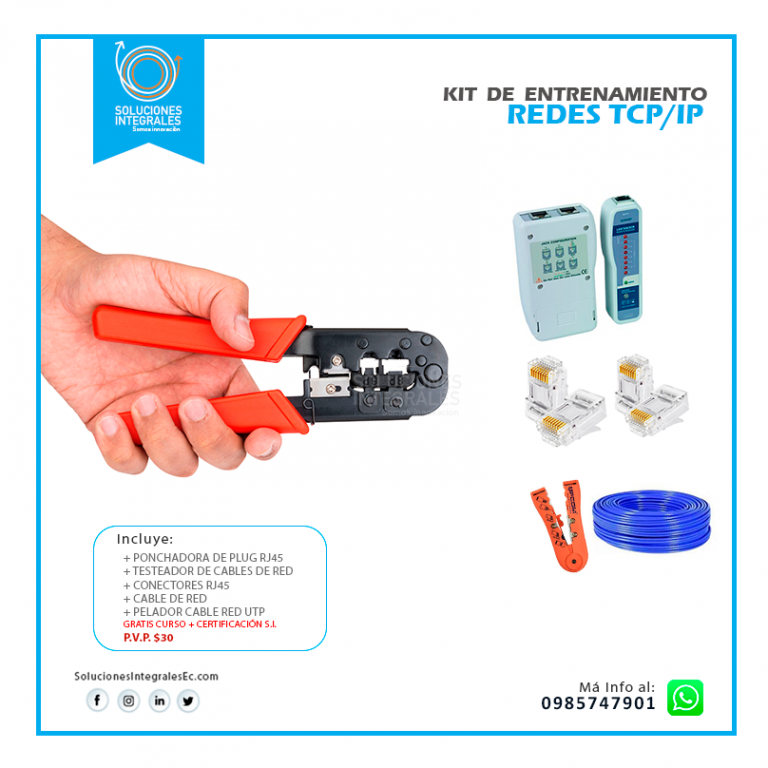 Kit Redes Curso TCP-IP
